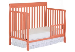 Fusion Coral Alissa Toddler Bed Silo