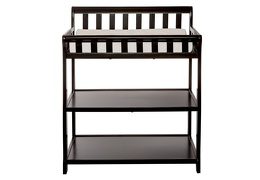 Black 2-in-1 Ashton Changing table Silo Front