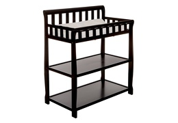Black 2-in-1 Ashton Changing table Silo Side