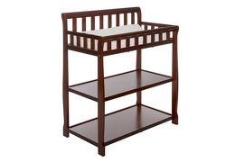 Espresso 2-in-1 Ashton Changing table Silo Side