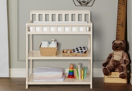 French White 2-in-1 Ashton Changing table RS1