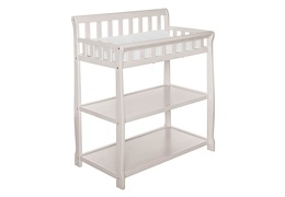 French White 2-in-1 Ashton Changing table Silo Side