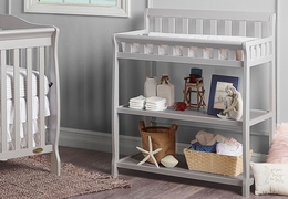 Grey 2-in-1 Ashton Changing table RS2