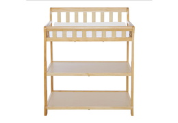 Natural 2-in-1 Ashton Changing table Silo Front