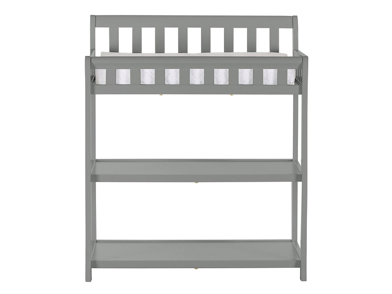 Steel Grey 2-in-1 Ashton Changing table Silo Front