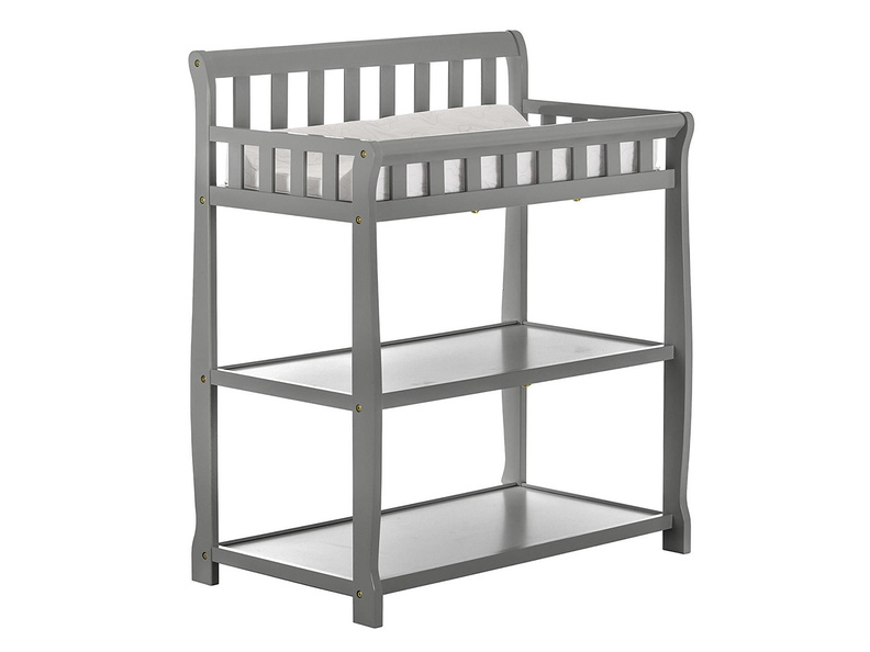Steel Grey 2-in-1 Ashton Changing table Silo Side