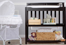 Black Zoey Changing Table