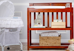 Espresso Zoey Changing Table