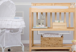 Natural Zoey Changing Table