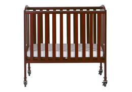 Cherry 2 in 1 Folding, Birch Portable Crib Silo