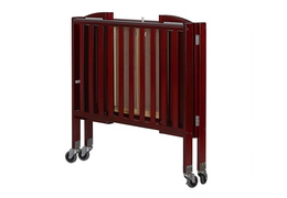 Cherry 2 in 1 Folding, Birch Portable Crib Silo Fold
