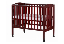 Cherry 2 in 1 Folding Portable Crib Silo