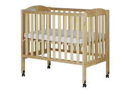 Natural 2 in 1 Folding Portable Crib Silo