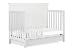 White - Morgan Toddler Bed Silo