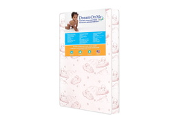 Baby Trend Nursery Center 3 Inch Foam Mattress with Square Corner - Side