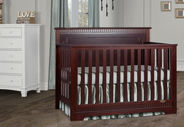 Espresso - Morgan 5-in-1 Convertible Crib RS