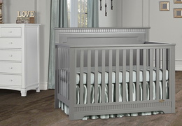 Morgan 5 in 1 Convertible Crib
