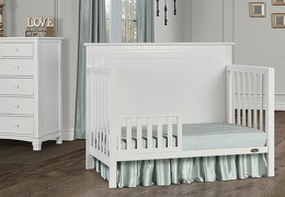 White - Morgan Toddler Bed RS