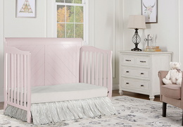 Blush Pink - Ashton Full Panel Day Bed RS