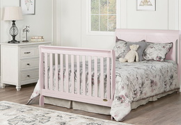Blush Pink - Ashton Full Panel Full Bed Headfoot RS