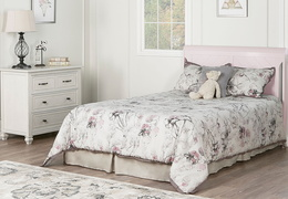 Blush Pink - Ashton Full Panel Full Bed RS