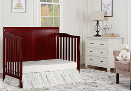 Cherry - Ashton Full Panel Day Bed RS