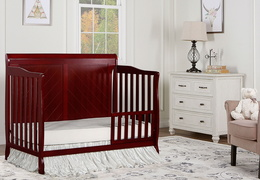 Cherry - Ashton Full Panel Toddler Bed RS