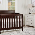 Espresso - Ashton Full Panel 5-in-1 Convertible Crib RS