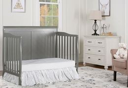 Storm Grey - Ashton Full Panel Day Bed RS