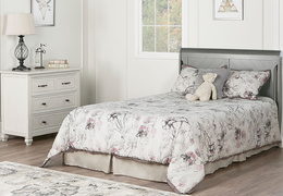 Storm Grey - Ashton Full Panel Full Bed RS