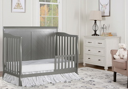 Storm Grey - Ashton Full Panel Toddler Bed RS