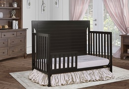 Charcoal - Cape Cod Toddler Bed RS
