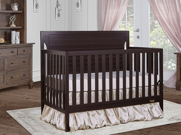 Dark Espresso - Cape Cod 5-in-1 Convertible Crib RS