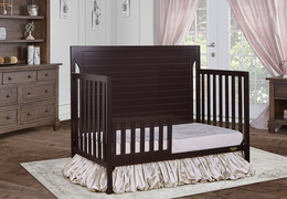 Dark Espresso - Cape Cod Toddler Bed RS