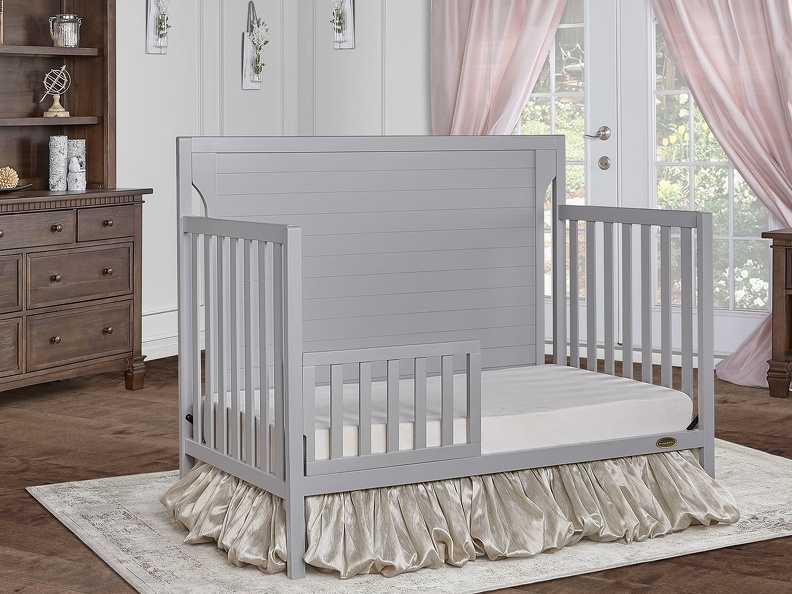 Pebble Grey - Cape Cod Toddler Bed RS