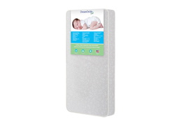 Orthopedic Extra Firm Foam Standard Crib Mattress Side