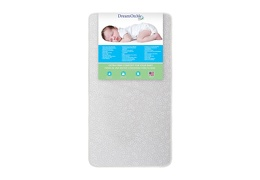Orthopedic Extra Firm Foam Standard Crib Mattress Front