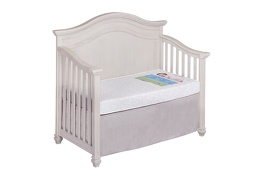 Orthopedic Extra Firm Foam Standard Crib Mattress in Crib