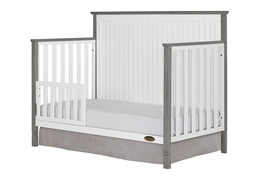 Alexa Toddler Bed Silo - Brushed Silver Grey Pearl