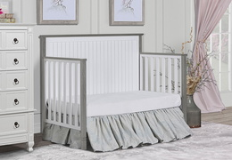 Alexa Day Bed Room Scene - Brushed Silver Grey Pearl