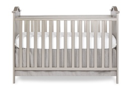 734-GD Bella Rose Classic Convertible Crib Front Silo