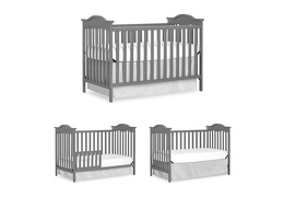 734-SGY Bella Rose Classic Convertible Crib Collage