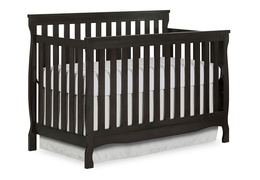 Charcoal Keyport 5 in 1 Convertible Crib Side Silo