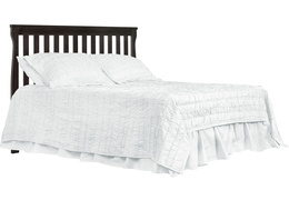Charcoal Keyport Full Size Bed HeadBoard Silo
