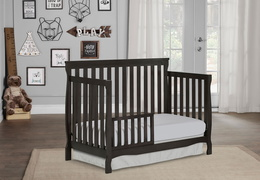 Charcoal Keyport Toddler Bed RmScene