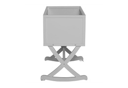 Pebble Grey Haven Cradle Silo Side