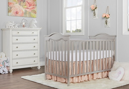 Bella Rose Classic Convertible Crib