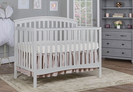 Grey Eden 5 in 1 Convertible Crib RS