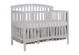 Grey Eden 5 in 1 Convertible Crib Silo