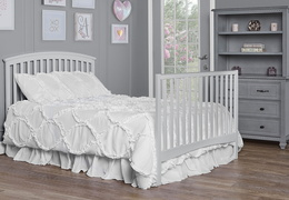 Grey Eden Full Size Bed Headfoot RS